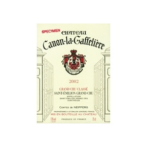 Château Canon La Gaffelière 2002