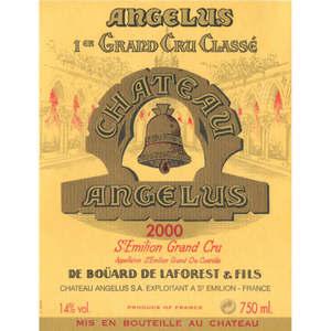 Château Angelus 1er Grand Cru Classé 2000