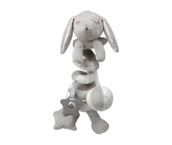 Spirale attivita coniglietto grigio