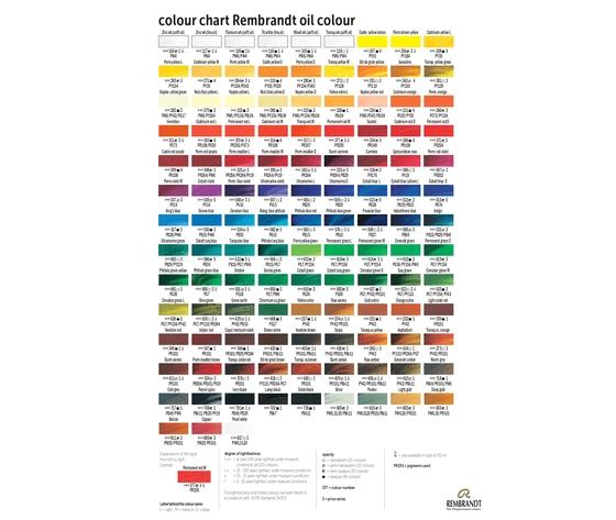 Colori ad olio rembrandt