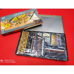 Cretacolor ultimo drawing set 35 pezzi