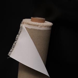 Tela Di Cotone con preparazione artigianale a gesso acrilico
