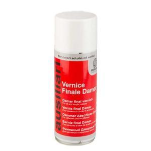 Vernice Finale Damar Spray per colori ad olio e acrilici 400 ml