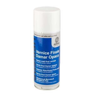 Vernice Finale Damar Opaca Spray per colori ad olio e acrilici 400 ml