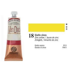 Olio Van Dyck 18 Giallo Zinco 60 ml
