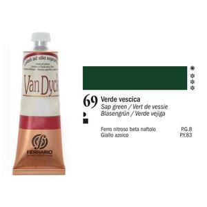 Olio Van Dyck 69 Verde Vescica 60 ml