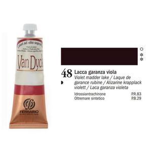 Olio Van Dyck 48 Lacca Garanza Viola 60 ml