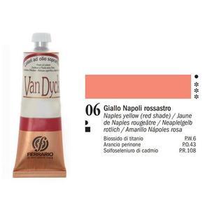 Olio Van Dyck 06 Giallo Napoli Rossastro 60 ml