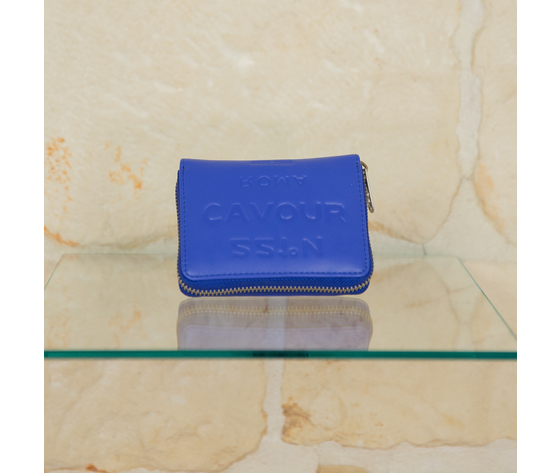 Portafoglio blu 5 pre