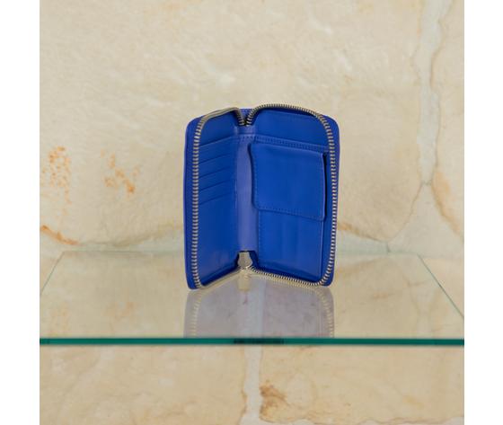 Portafoglio blu 5 pre 2