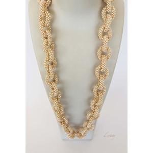 Collana di perle a catena