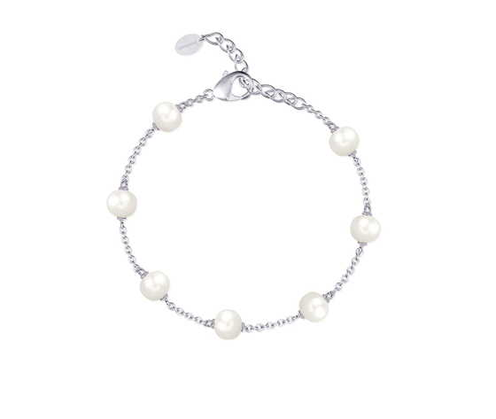 Bracciale in argento e perle coltivate mabina 533314