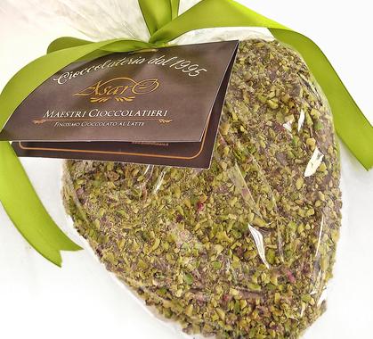 Cuore di cioccolato al pistacchio