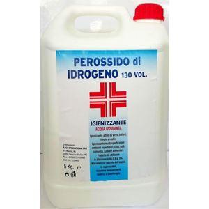 PEROSSIDO DI IDROGENO 130% VOL KG. 5