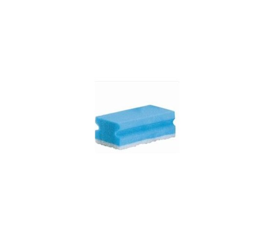 0292 spugna bianca blu