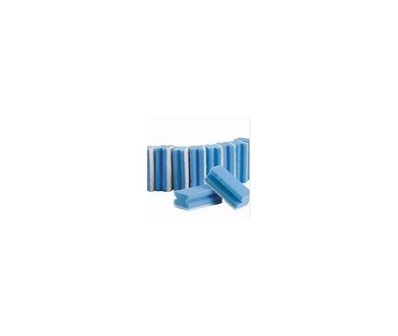 0292 spugna bianca blu 10 pz
