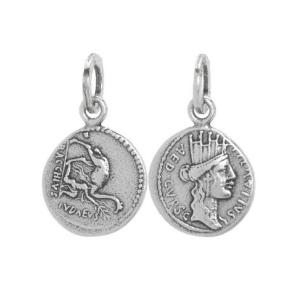 BB0351 Ciondolo Suali Moneta Antica