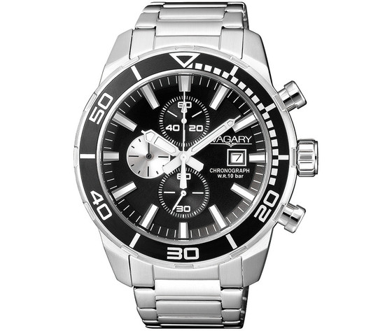 Orologio cronografo uomo vagary by citizen aqua 39 ia9 616 51 196462