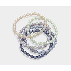 MB05F0P0FR99056  Bracciale Mikiko Perle Fresh Water Multicolor 5,5/6