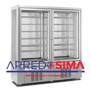 vetrina frigorifera a refrigerazione STATICA 9121 / 1,5kw