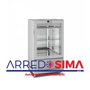 vetrina frigorifera a refrigerazione VENTILATA 8711-S