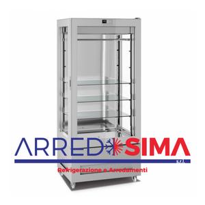 vetrina frigorifera a refrigerazione VENTILATA 8713-L