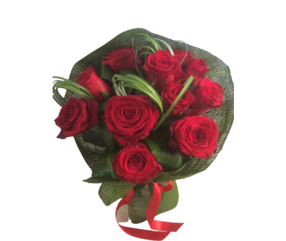 Bouquet 12 rose rosse  %e2%82%ac 60