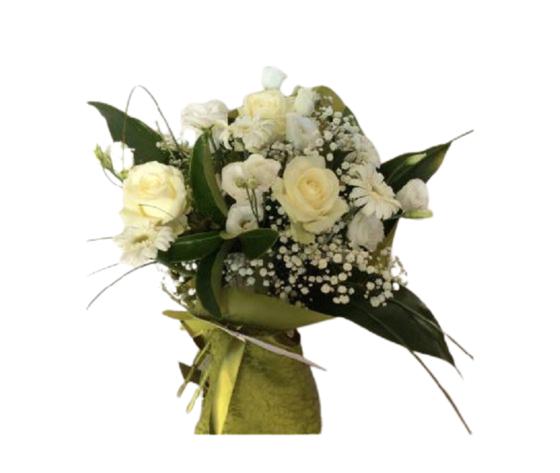 Bouquet fiori mix bianchi  %e2%82%ac 40