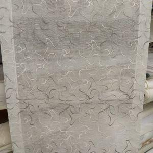 Tenda a vetro RICAMATO 924432 Grey