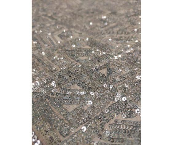 Paillettes argento1