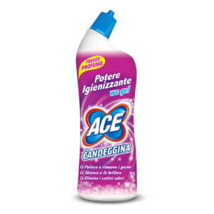 ACE WC GEL 700 ML CON CANDEGGINA - ROSA