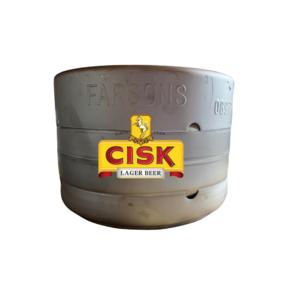 BIRRA CISK PILSNER 5.5° X LT.20