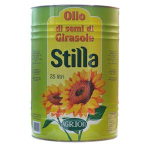 AGRIOIL OLIO DI SEMI DI GIRASOLE LATTA STILLA X LT.25