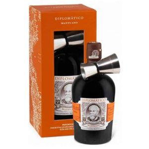RUM DIPLOMATICO MANTUANO GIFT PACK CON JIGGER 40% VOL. CL.70