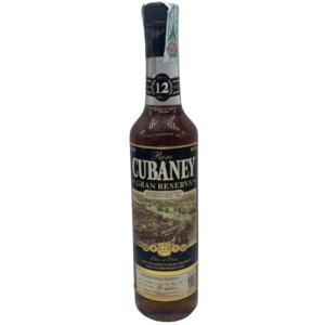 RUM CUBANEY GRAN RESERVA 12 ANNI CL.70