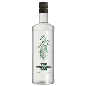 GIN THE WORKING DOG TOSCHI 38% VOL. CL.100