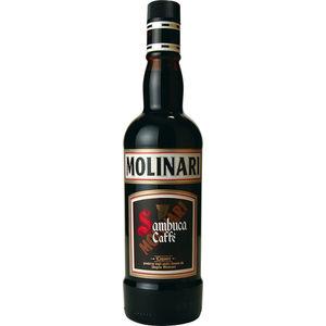 SAMBUCA MOLINARI AL CAFFE  36% VOL. L. 70
