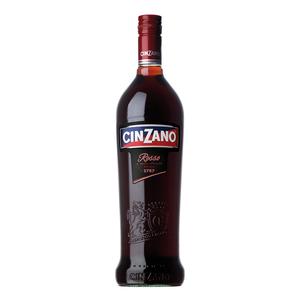 CINZANO VERMOUT ROSSO  CAMPARI 16% VOL. LT.1.00