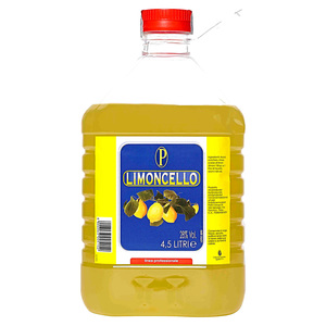 LIMONCELLO TANICA PET 28% VOL. LT.4,5