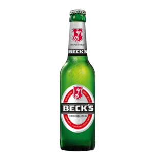 BIRRA BECK`S 5% VOL. CL.33X24
