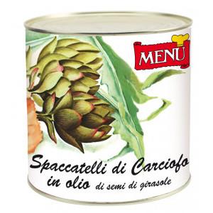 CARCIOFO SPACCATELLI IN OLIO   KG.2.5