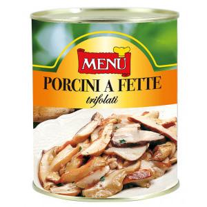 PORCINI TRIFOLATI FETTE BOSCHETTO  KG.0.8