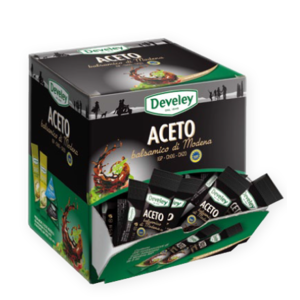 "ACETO BALSAMICO MODENA ""DEVELEY"" ML. 5 X 200"
