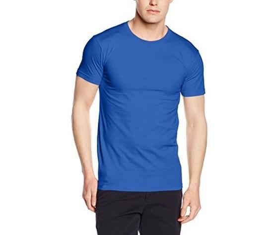 T shirt uomo blu royal fronte