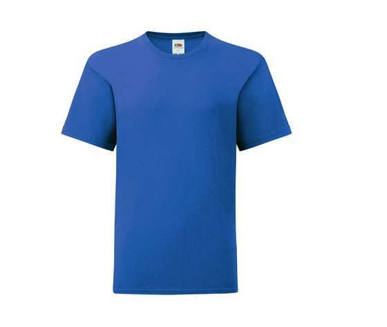 T shirt uomo blu royal
