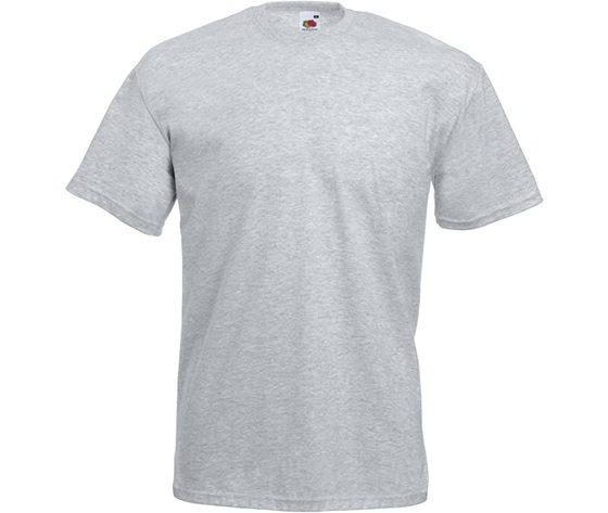 T shirt uomo grigio melange