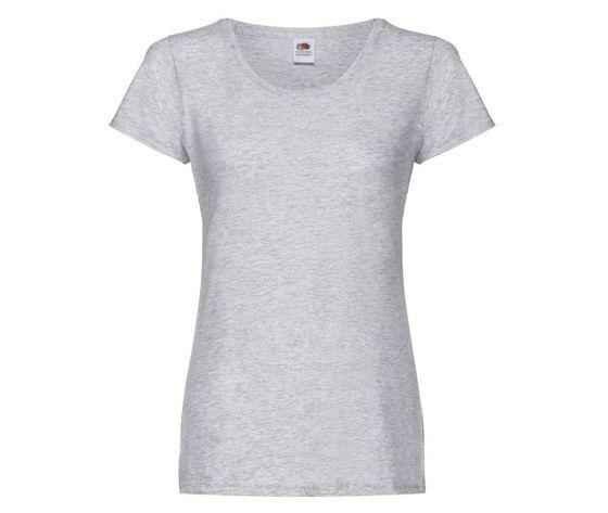 T shirt donna grigio melange