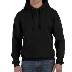Felpa da uomo con cappuccio, colore nero