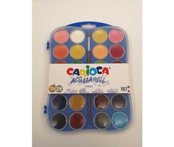 Carioca acquerelli 24
