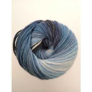DMC Lana BRIO 80% Acrilico - 20% Lana gr 100 colore 402 (bianco/azzurro/blu)